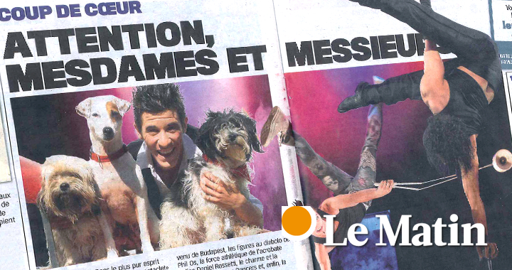 Press coverage Lematin 2011 02 24
