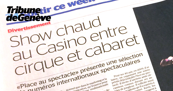 Press coverage Tribune De Genève 2016 02 02