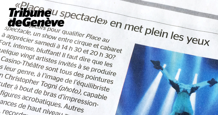 Press coverage Tribune De Genève 2016 02 04