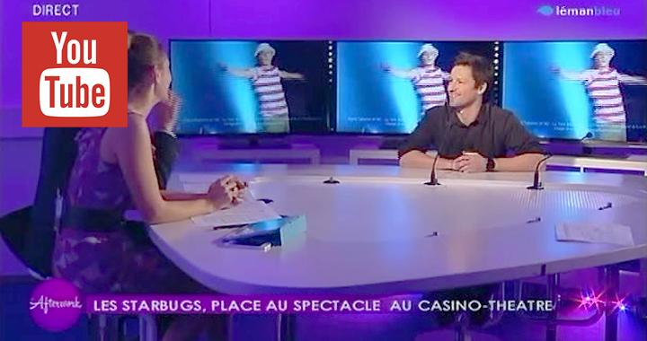 Couverture Interview Tv 2014 avec Les Starbugs