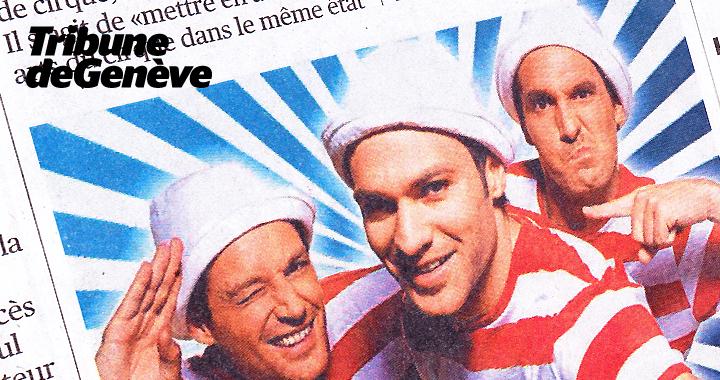 Couverture De Presse Tribune De Genève 2014 02 04