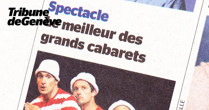 Couverture De Presse Tribune De Genève 2014 02 06