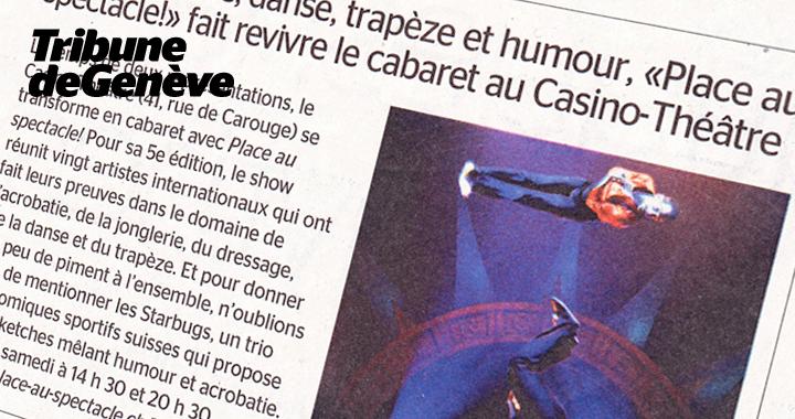 Couverture De Presse Tribune De Genève 2014 02 08