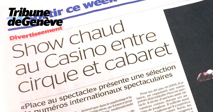 Couverture De Presse Tribune De Genève 2016 02 02