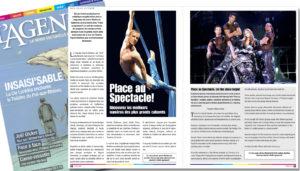 Article De Presse L'agenda Janvier 2013