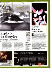 Article De Presse L'illustré 2013