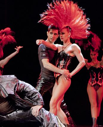 Les Oiseaux de Paradis - Ballet Dancers ©F.Serex