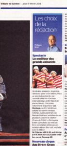 Article De Presse Tribune De Genève 2014
